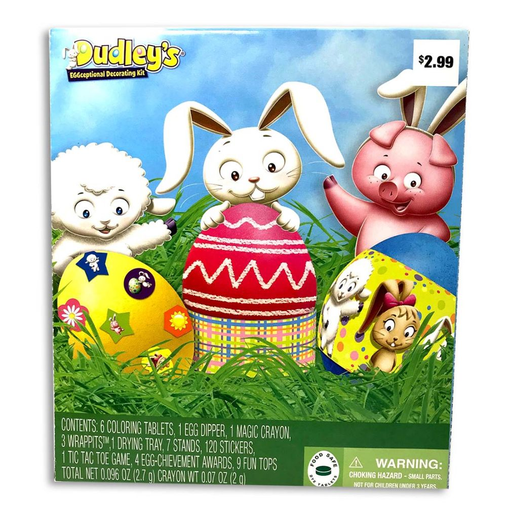 22 Units of DUDLEYS EGG DECORATING KIT PRE-PRICED $2.99 - Easter ...