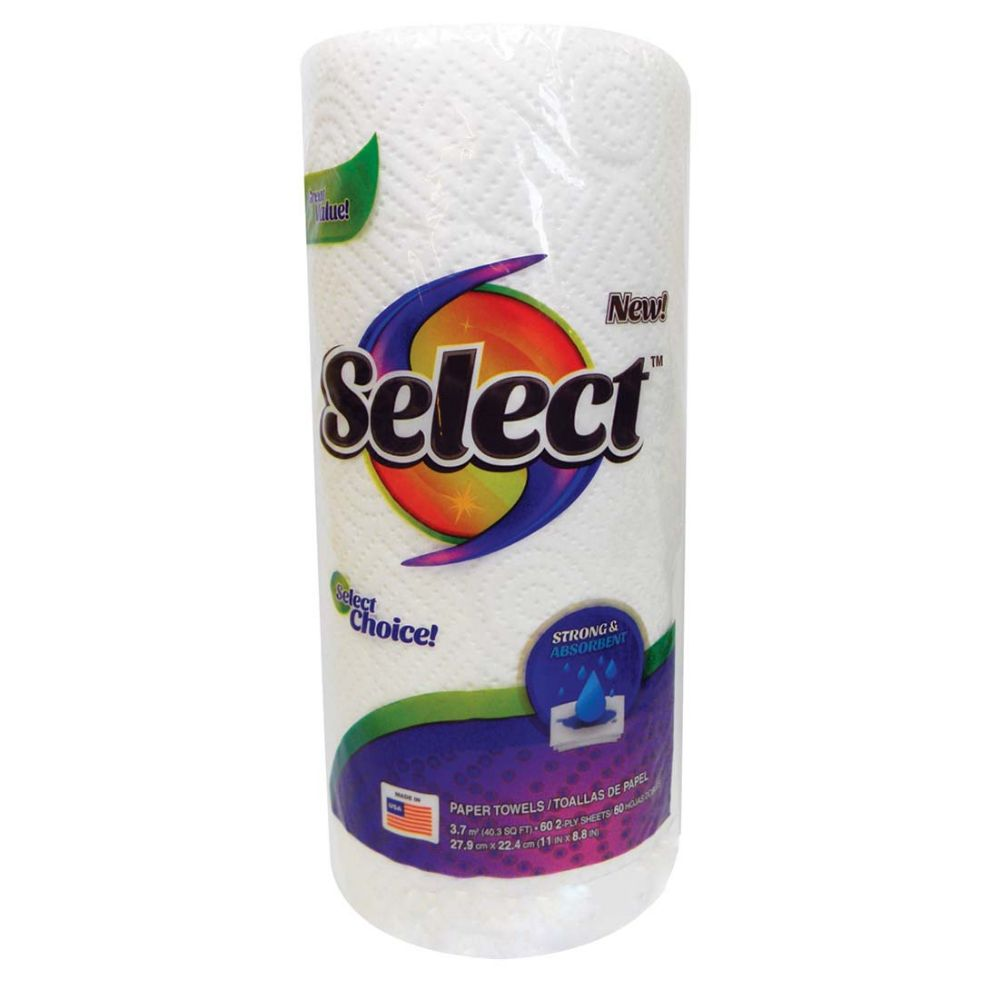 30 Units of SELECT PAPER TOWEL 60-2 PLY SHEETS - PAPER