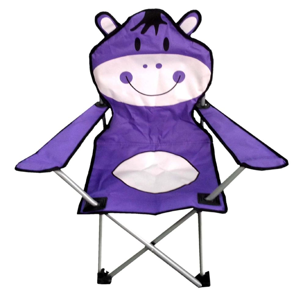 6 Units of CAMPING CHAIR FOR KIDS 26 X 14 X 14 DONKEY DESIGN - Camping Accessories