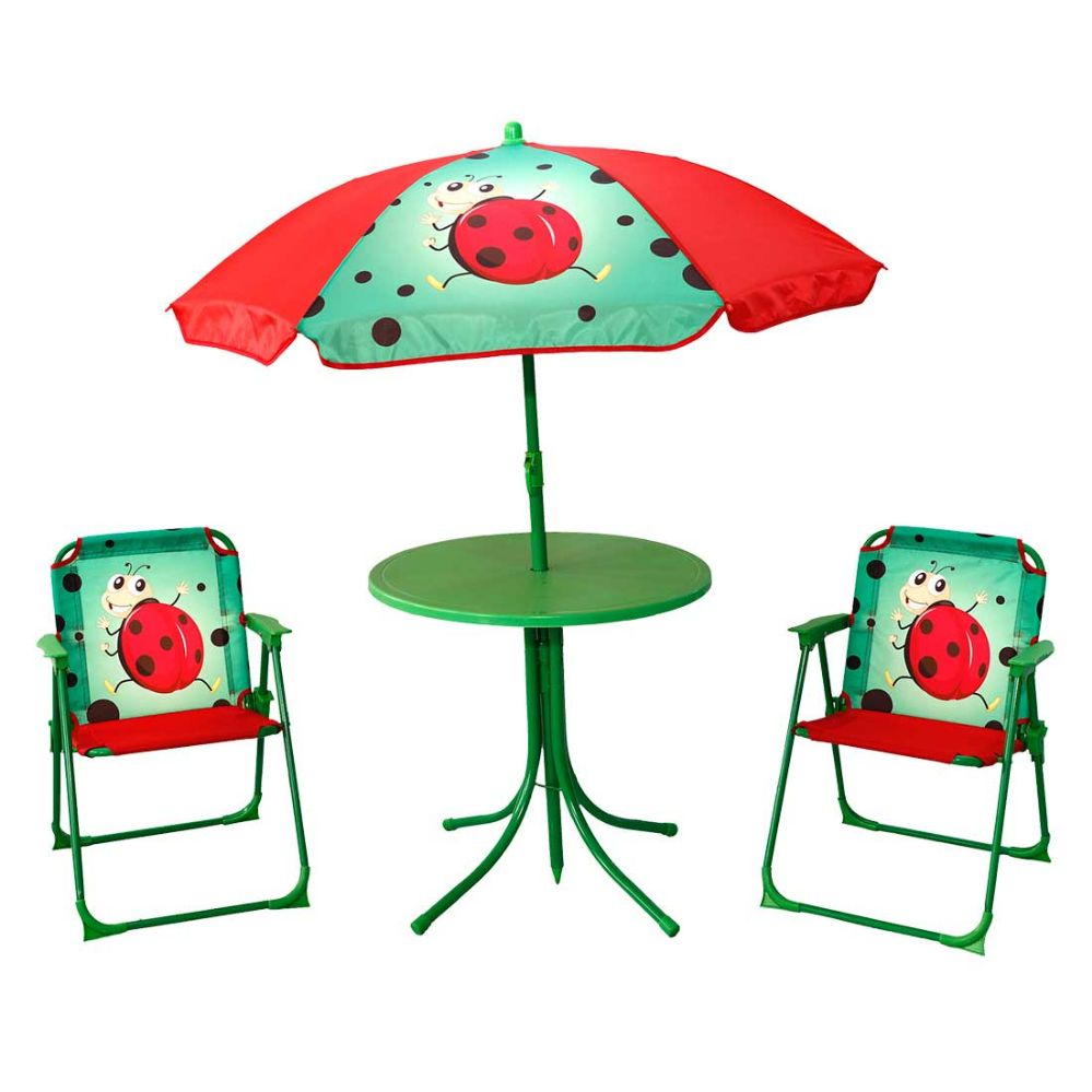sc 1 st  Alltimetrading & KIDSu0027 PATIO SET LADYBUG - Garden Decor - at - alltimetrading.com