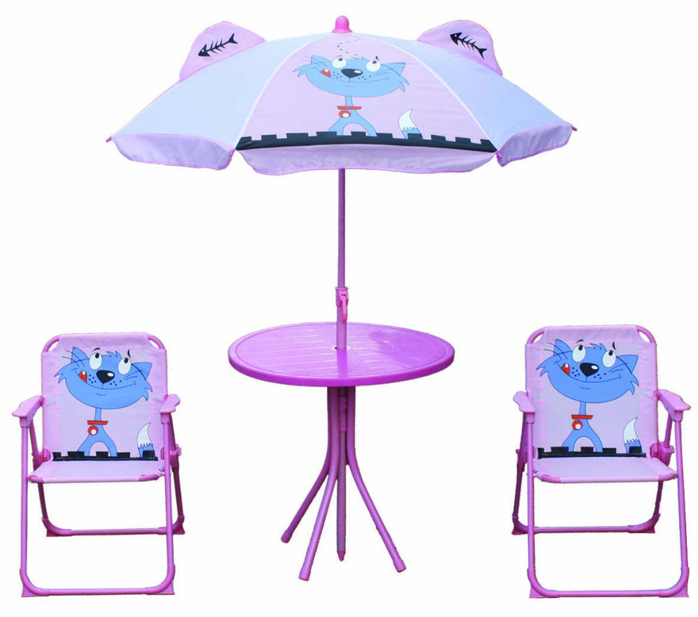 KIDSu0027 PATIO SET CAT   Camping