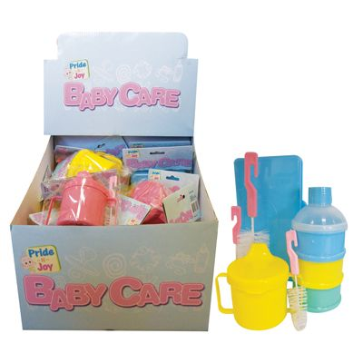 48 Units Of Baby Care Accessories 4 Assorted In Display