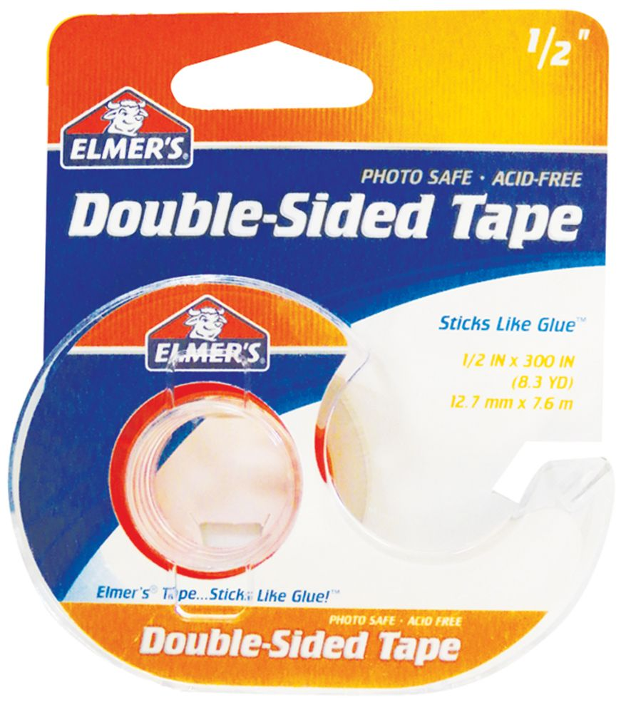 24 Units Of Elmer S Double Sided Tape 50 X 300 Inch With