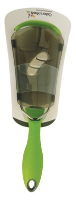 4 Units of GIBSON GRATER 12 INCH STAINLESS STEEL WITH NON-SLIP GRIP AND COVER GREEN