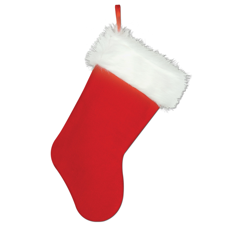 """12 Units of Plush Christmas Stocking 15"""""""