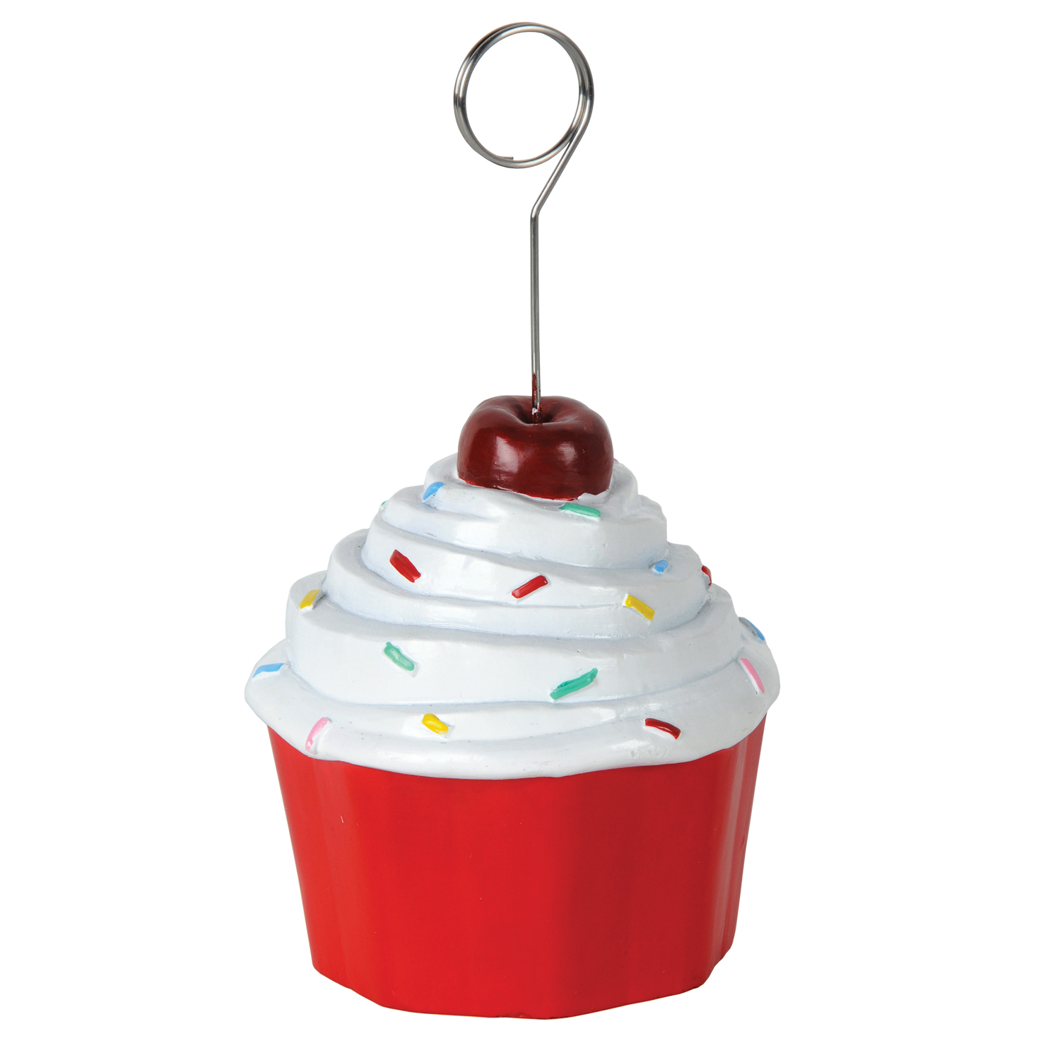 6 Units of Cupcake Photo/Balloon Holder - Balloons/Balloon Holder