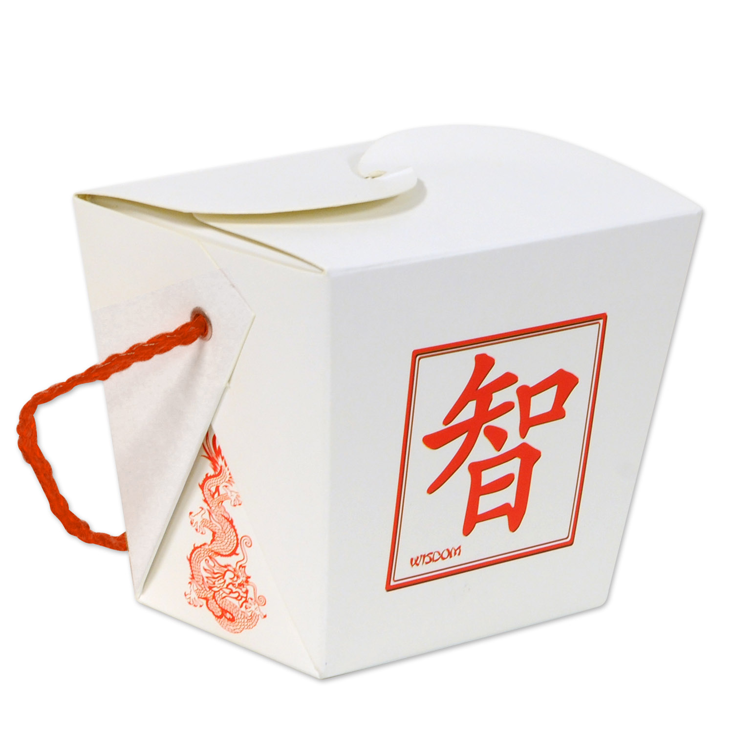 24 Units of Asian Favor Box - Pint use for party favors & dry foods only; assembly required - Party Novelties