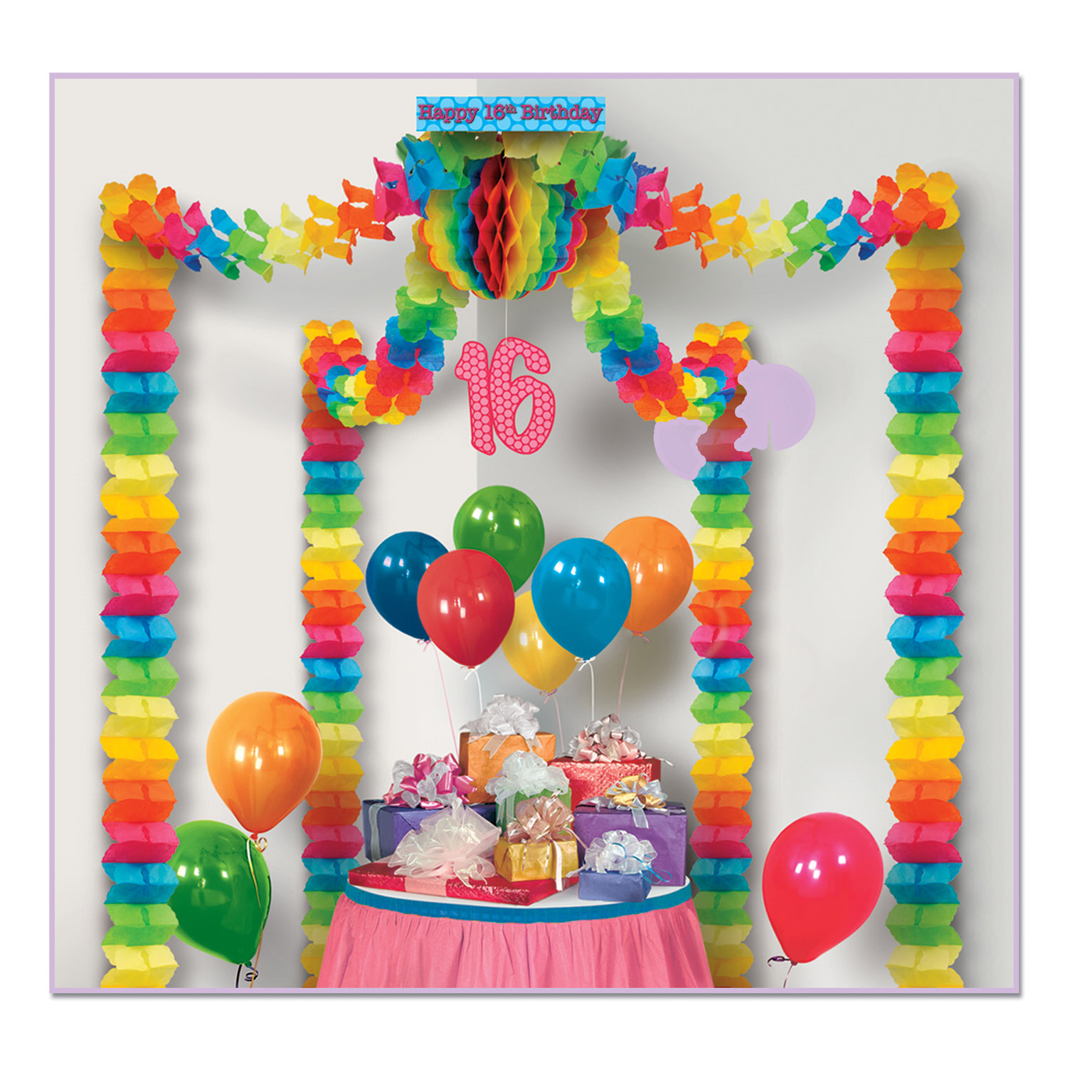6 Units Of 16th Birthday Party Canopy Covers Approximately 20x20 Area