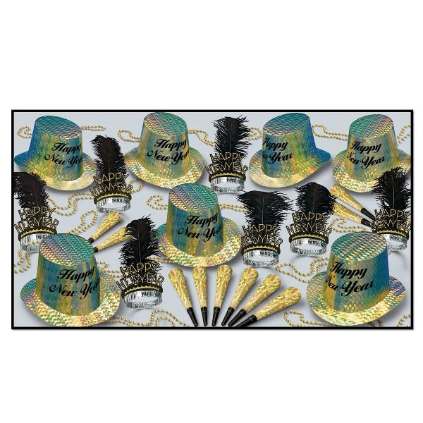 Topaz Asst for 50 - Party Accessory Sets