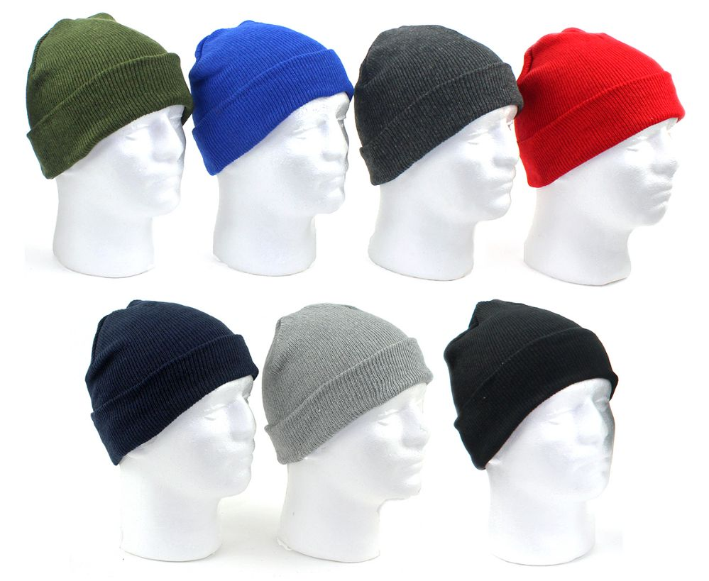 60 Units of Premium Children s Cuffed Knit Hats - Assorted Colors - Junior    Kids Winter Hats - at - alltimetrading.com e5c67c9494c