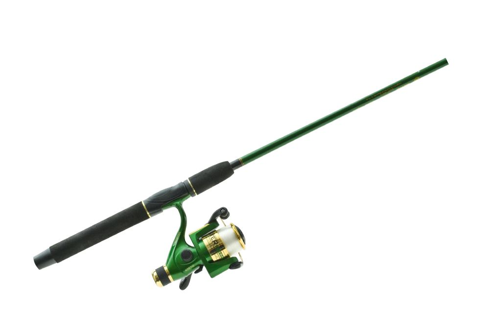 """6 Units of Master Rod 1BB 6'6"""" 2PC GRN SPIN COMBO - Fishing - Combos"""