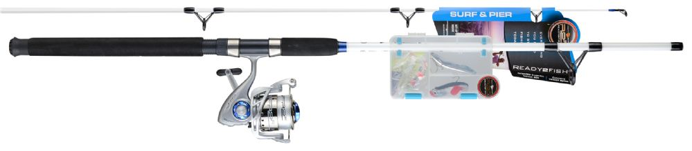 3 Units of Ready 2 Fish R2F3 SURF & PIER SPN COM W/KIT - Fishing - Combos