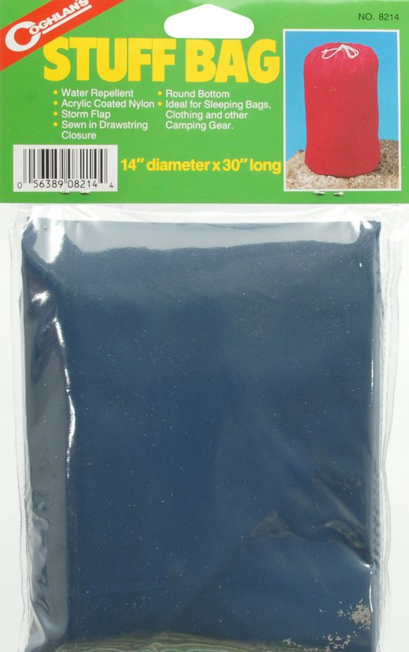 "19 Units of Coghlan'S Ltd. STUFF BAG 14"" X 30""            - Outdoor Recreation - Camping"