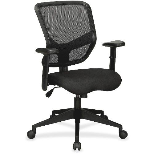 Lorell Executive Mesh Mid Back Chair Office Chairs At Alltimetrading Com