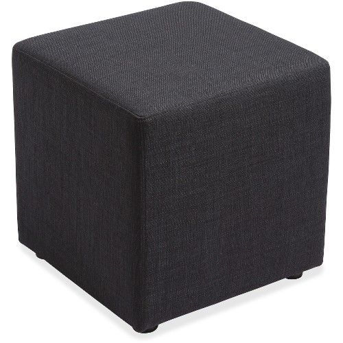 Lorell Fabric Cube Chair   Office Chairs
