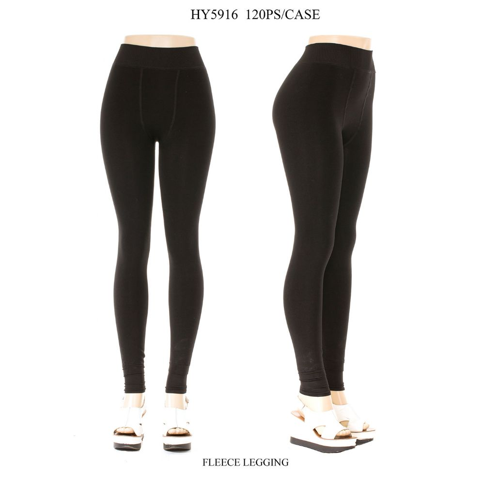 9a2dcc79df52f 48 Units of Ladies Fleece Lined Legging In Black Size XL-XXL - Womens  Leggings - at - alltimetrading.com