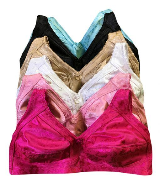5ac1e02b11 36 Units of Rose Ladys Wireless Mama Bra Assorted Color Size 38C - Womens  Bras And