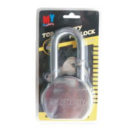 24 Units of Lock Stainless Security Long 65mm - Padlocks and Combination Locks