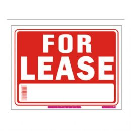 96 Units of Sign 12in by 16in For Lease - Signs & Flags