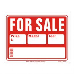 120 Units of Sign 12in by 16in For Sale - Signs & Flags