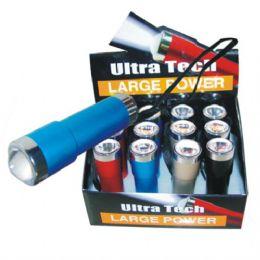 144 Units of LED Flashlight Ultra tech - Flash Lights