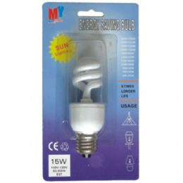 100 Units of Spiral Energy Bulb 20W - LIGHT BULBS