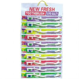 48 Units of Toothbrush Strip 10PK - Toothbrushes and Toothpaste