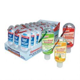 48 Units of Hand Sanitizer w/ Clip 1.8oz - Hand Sanitizer