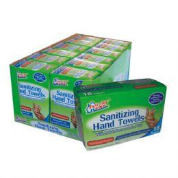 120 Units of Hand Sanitizing Towel 18 CT - Hand Sanitizer