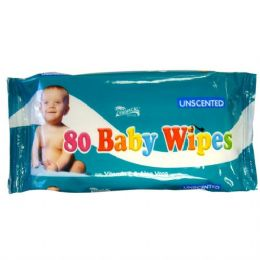 24 Units of Baby Wipe Tropical Brand 80CT Unscented - Personal Care Items