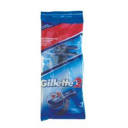 40 Units of Gillette Razor 3PK - Shaving Razors