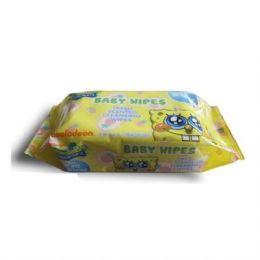24 Units of Baby Wipes 80CT Sponge Bob - Personal Care Items