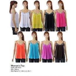 144 Units of Womens Top - Womens Fashion Tops