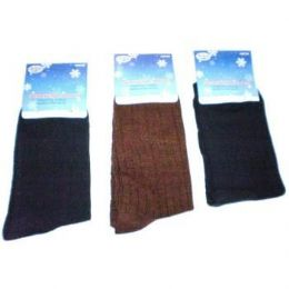 120 Units of Mens 1 Pair Dress Socks In Assorted Colors - Mens Dress Sock