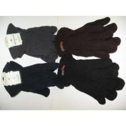 120 Units of Mens Flecce Winter Gloves - Fleece Gloves