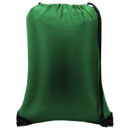 """60 Units of Value Drawstring Backpack kelly green - Backpacks 15"""" or Less"""
