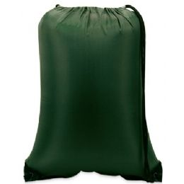 """60 Units of Value Drawstring Backpack-Forest - Backpacks 15"""" or Less"""