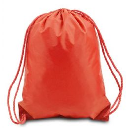 60 Units of Drawstring Backpack - Orange - Backpacks 17""