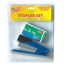 96 Units of Stapler Set - Staples and Staplers