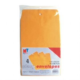 48 Units of Clasp Envelope 7.5in by 10.5in 4CT - Envelopes