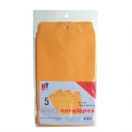 48 Units of Clasp Envelope 6in by 9in 5CT - Envelopes