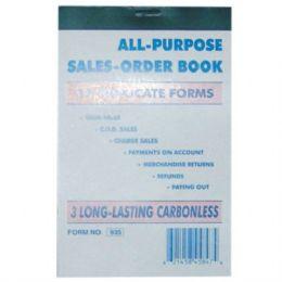 120 Units of Duplicate Sales Book 33 sheet (120/CS) - Sales Order Book