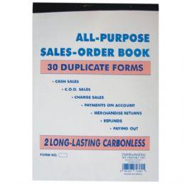 120 Units of Duplicate Sales Book 30 sheet (120/cs) - Sales Order Book