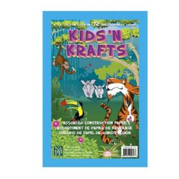 36 Units of Kids N Krafts Construction Papers 6x9 72SH - Coloring & Activity Books