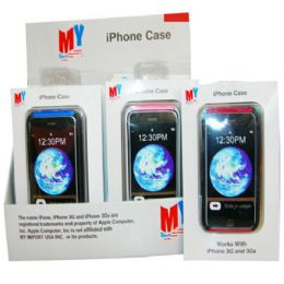 144 Units of Iphone Case Soft 3G - Cell Phone Accessories