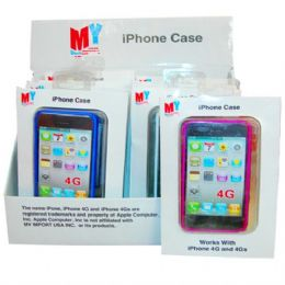 144 Units of Iphone Case Hard 3G - Cell Phone Accessories