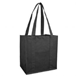100 Units of Reusable Shopping Bag-Black
