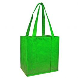 100 Units of Reusable Shopping Bag-Lime Green