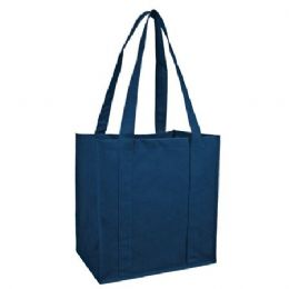 100 Units of  Reusable Shopping Bag-Navy - Tote Bags & Slings