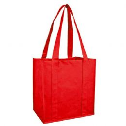 100 Units of Reusable Shopping Bag-Red